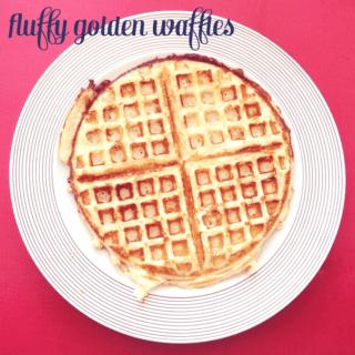Fluffy Golden Waffles