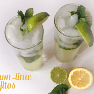 Lemon-Lime Mojitos