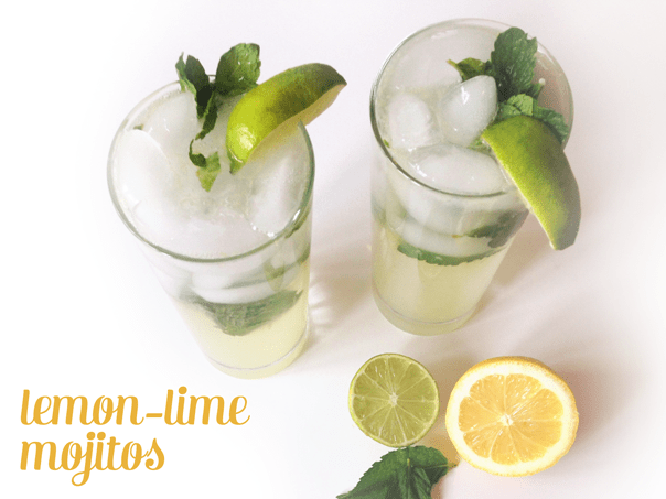 Lemon-Lime Mojitos // Feast + West