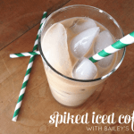 Spiked Iced Coffee with Bailey's