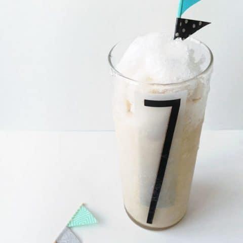 Snow Cream Milkshake