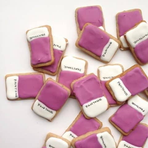 Pantone Cookies // Feast + West