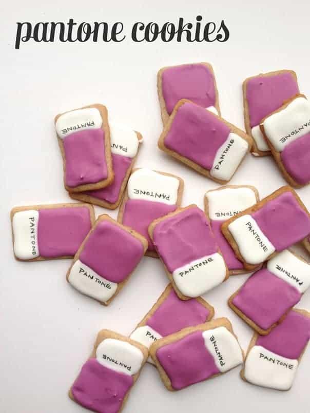 Pantone Cookies // Feast + West