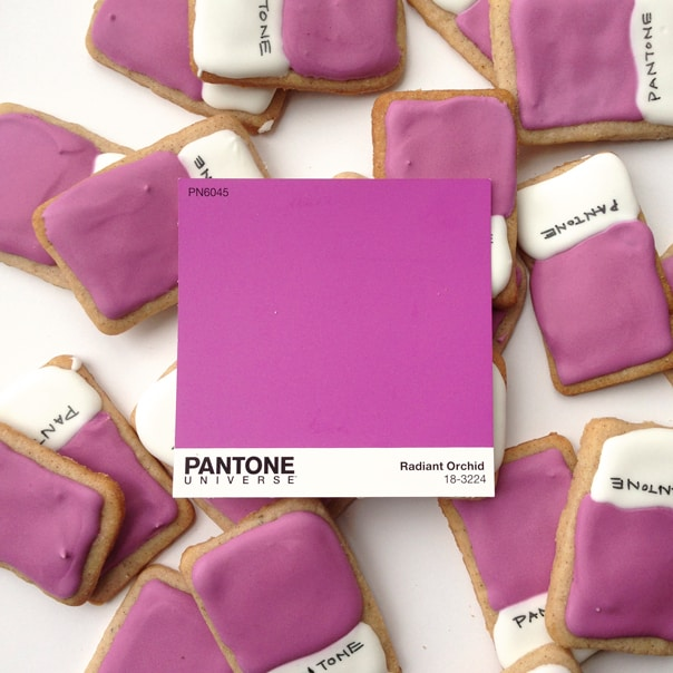 These Pantone Cookies are the cutest way to celebrate the Color of the Year! Or any colorful occasion, really.