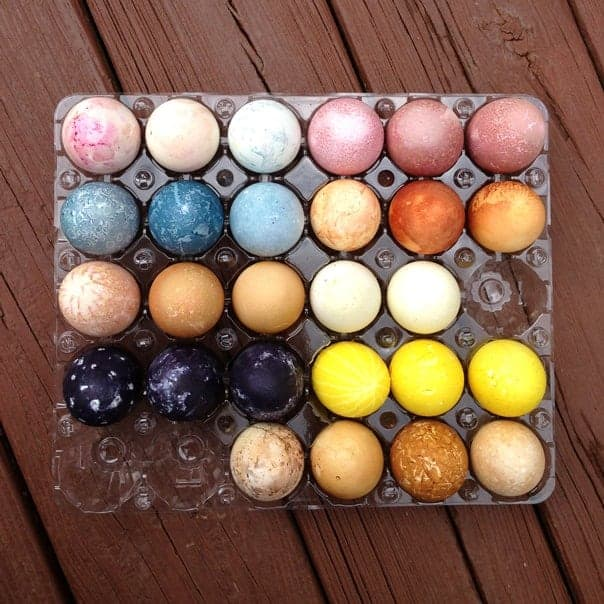 Natural Easter Egg Dyes » Feast + West