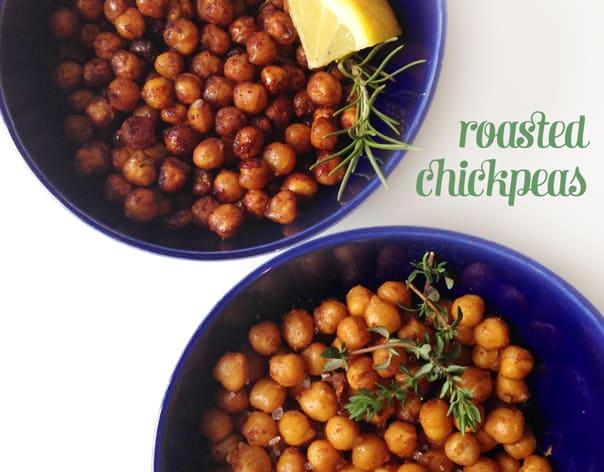 Roasted Chickpeas // Feast + West
