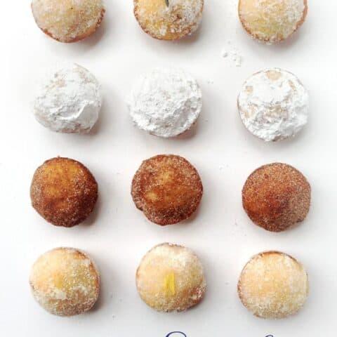 Sugar Doughnut Muffins