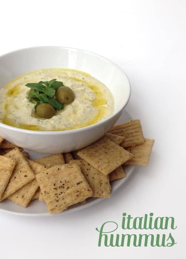 Italian Hummus // Feast + West