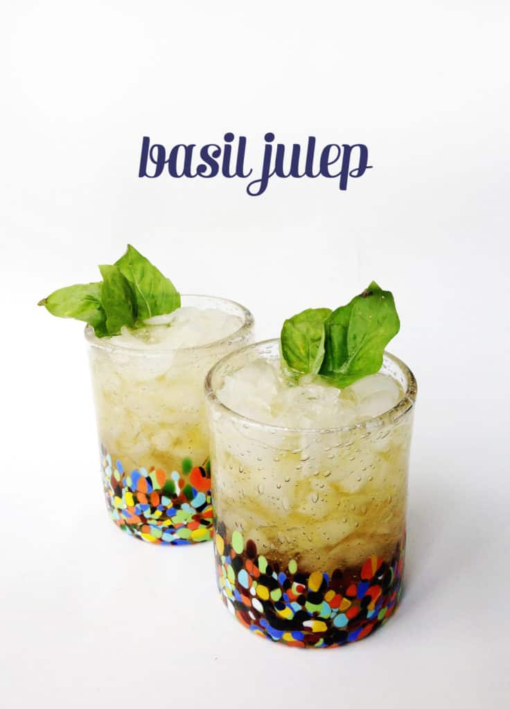 Basil Julep // Feast + West