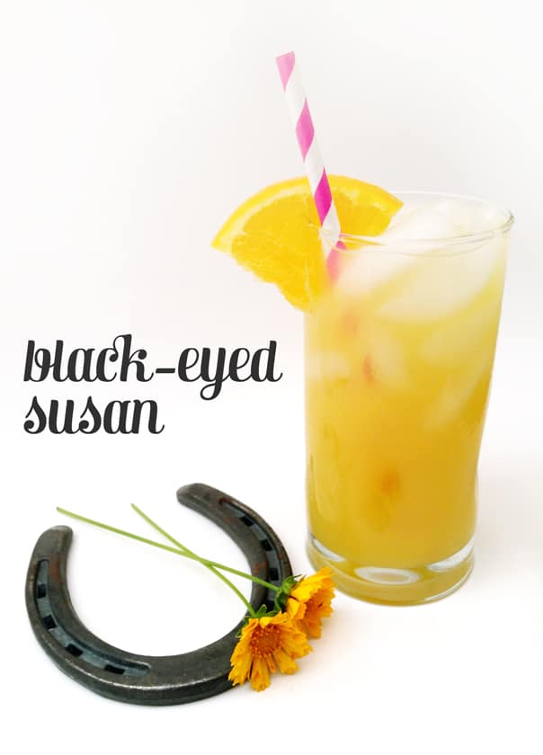 Black-Eyed Susan cocktail // Feast + West