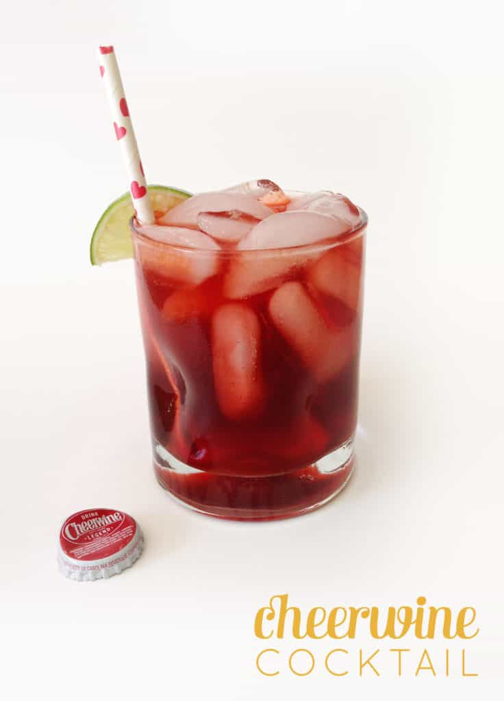 Cheerwine Cocktail // Feast + West