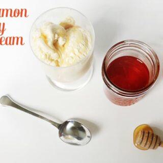 Cinnamon Honey Ice Cream