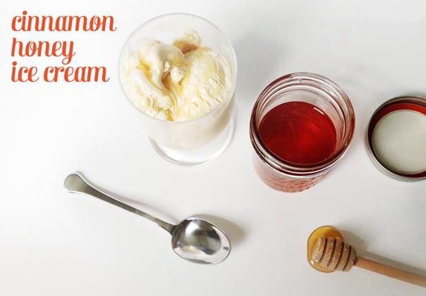 Cinnamon Honey Ice Cream // Feast + West