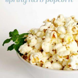 Spring Herb Popcorn
