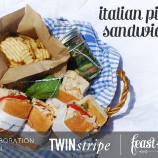 Italian Picnic Sandwiches