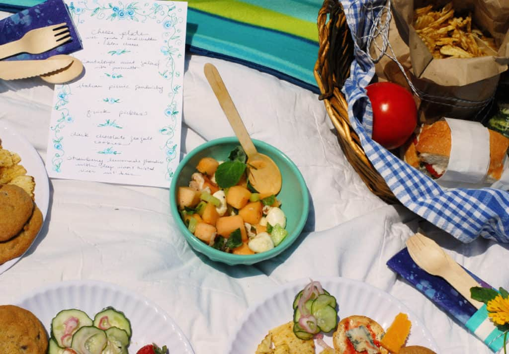 Summer Picnic // Feast + West and Twin Stripe