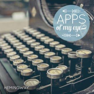 Apps of My Eye: Hemingway