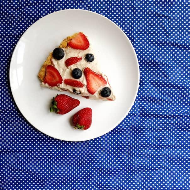 Berry Cream Pie // Feast + West