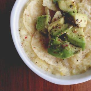 Corn + Thyme Soup
