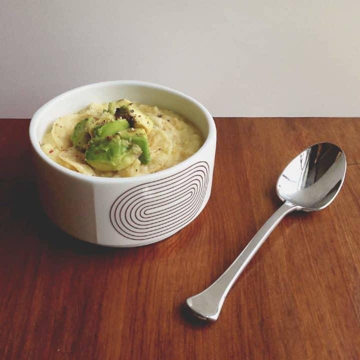 Corn + Thyme Soup // Feast + West