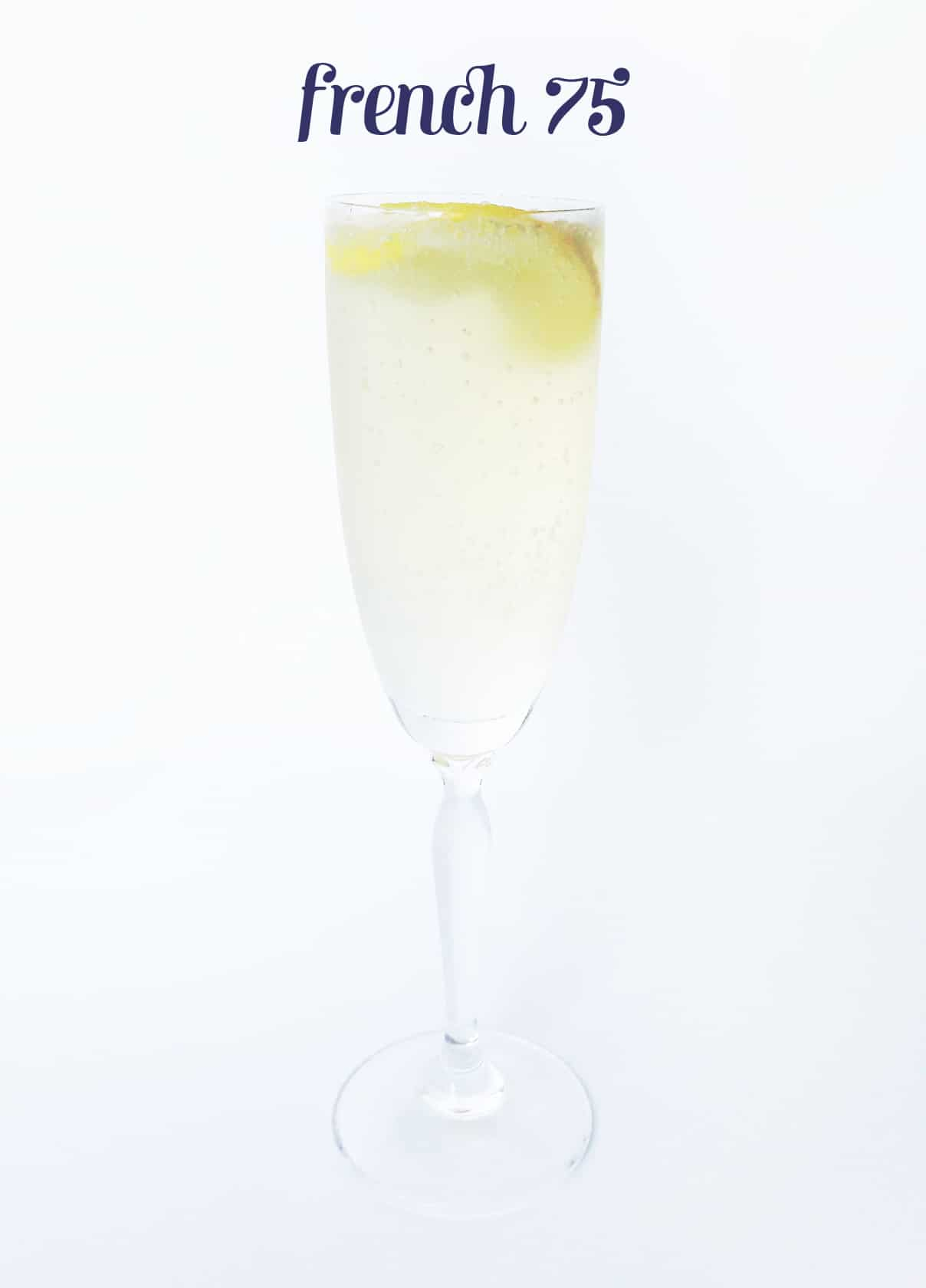 French 75 cocktail // Feast + West