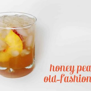 Honey Peach Old-Fashioned