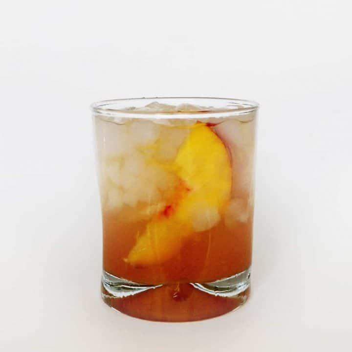Honey Peach Old-Fashioned // Feast + West