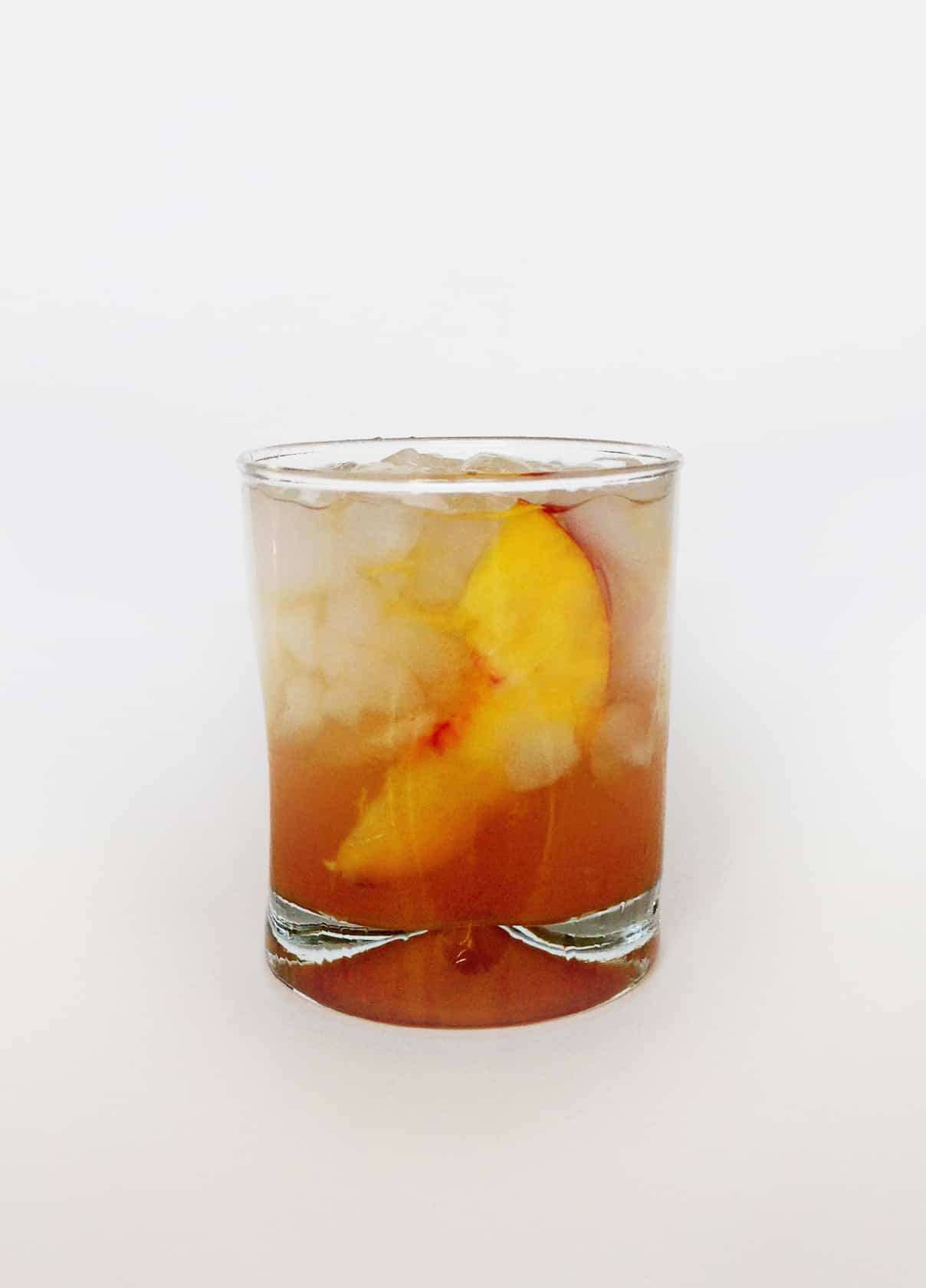 Honey Peach Old-Fashioned // Feast + West