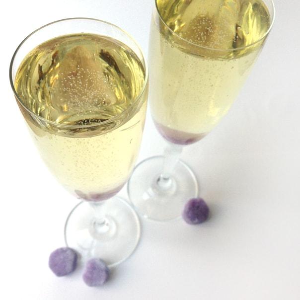 Sparkling Lavender Cocktail // Feast + West