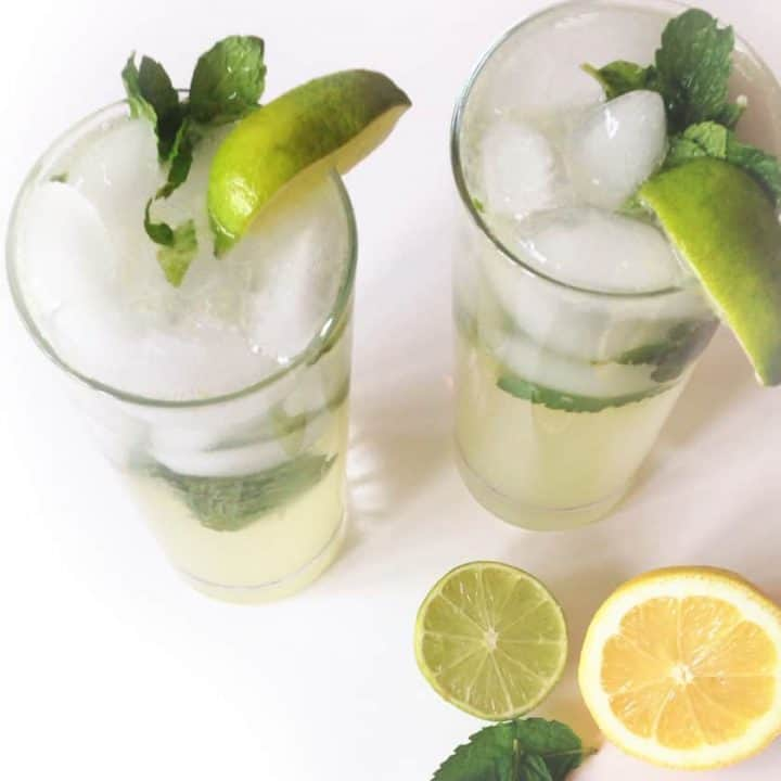 Lemon-Lime Mojito // Feast + West