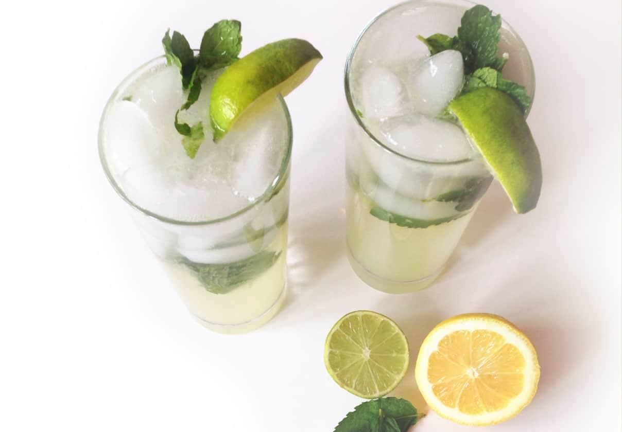 Virgin Lemon-Lime Mojito // Feast + West