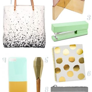 The Grown-Up Back-to-School Wishlist
