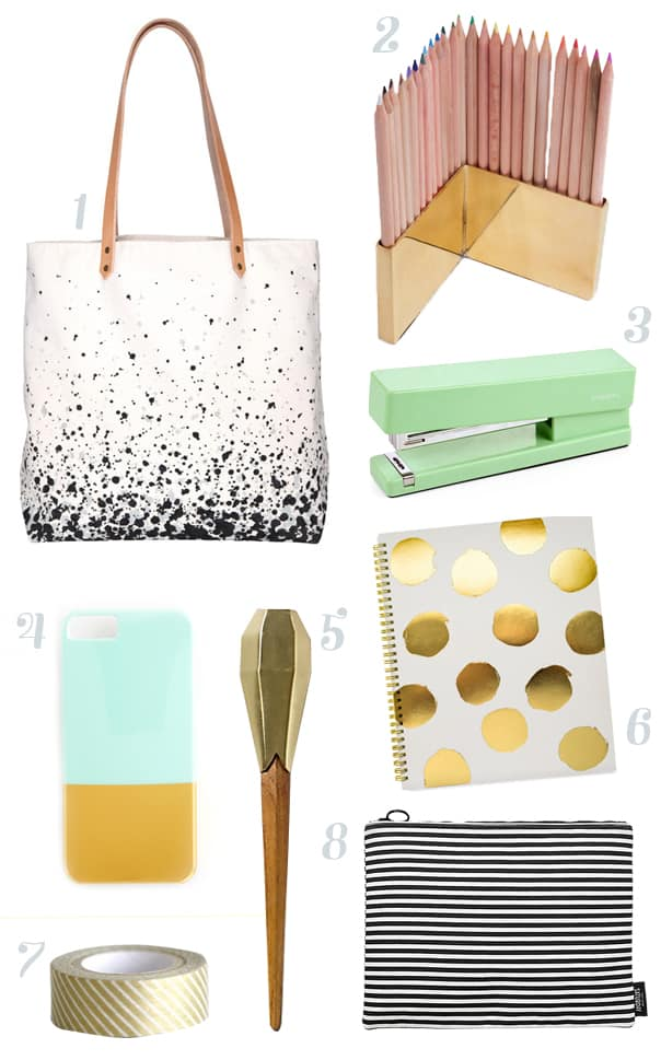 Grown-Up Back-to-School Wishlist // Feast + West // Feast + West