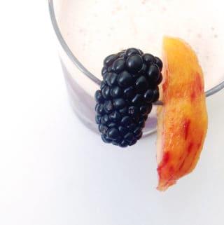 Blackberry Peach Sour