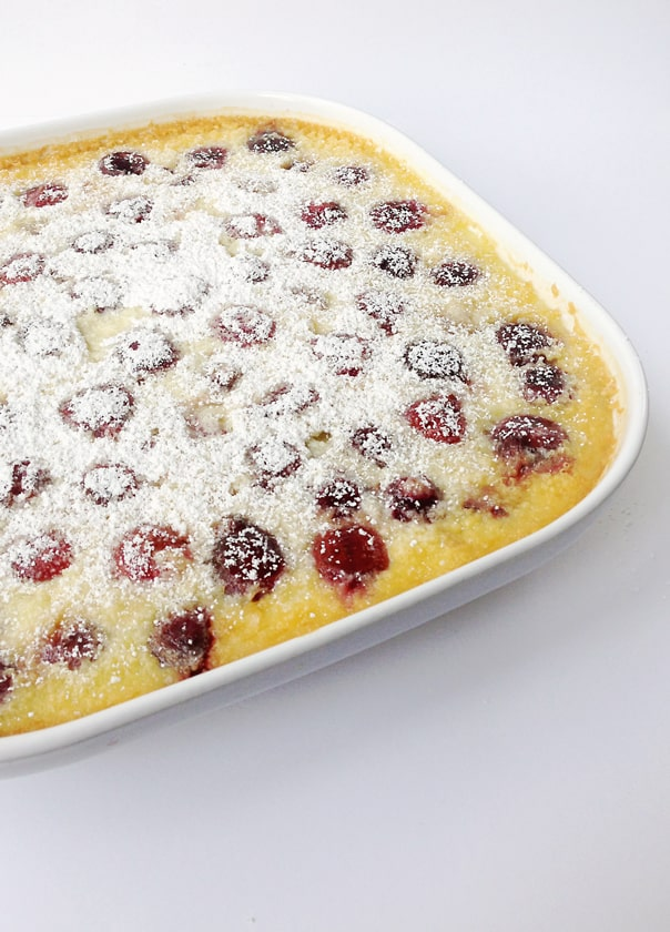 Cherry Clafoutis // Feast + West