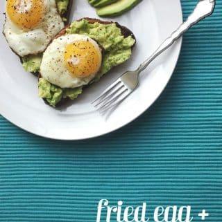 Fried Egg + Avocado Toast