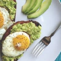 Fried Egg + Avocado Toast