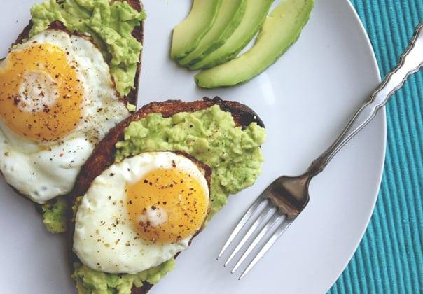 Egg + Avocado Toast // Feast + West