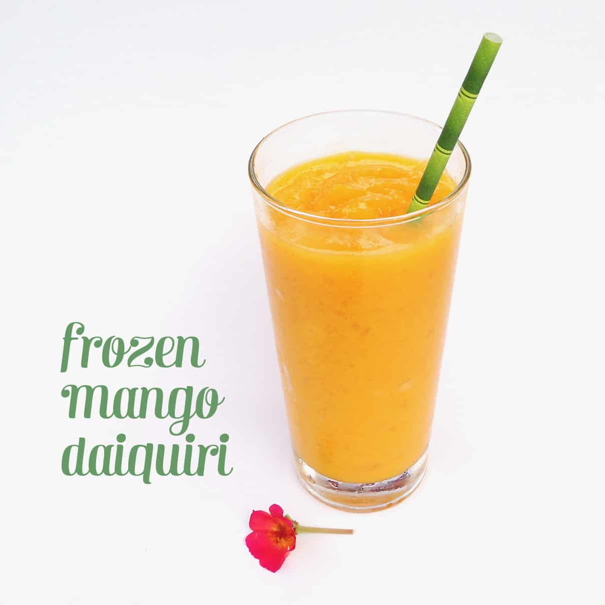 Frozen Mango Daiquiri // Feast + West