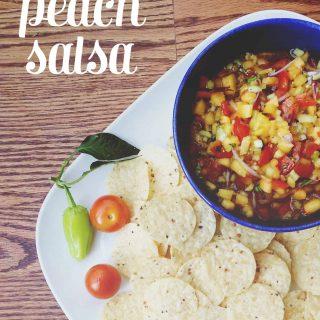 Tangy Peach Salsa