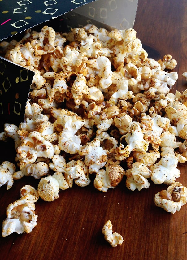 Chipotle Lime Popcorn // Feast + West