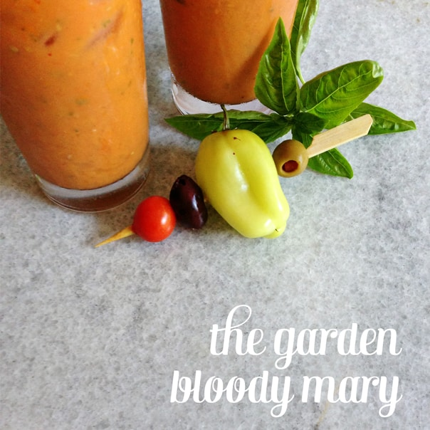 Garden Bloody Mary // Feast + West