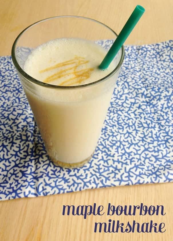 Maple Bourbon Milkshake // Feast + West