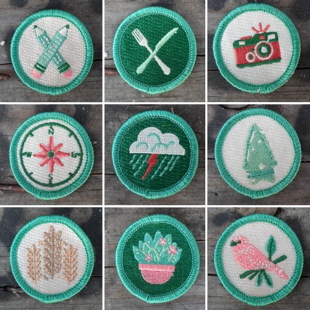 The Scout Project merit badges // Feast + West