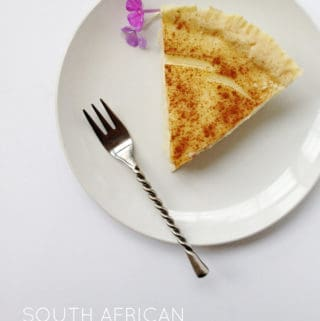 Melktert: South African Milk Tart
