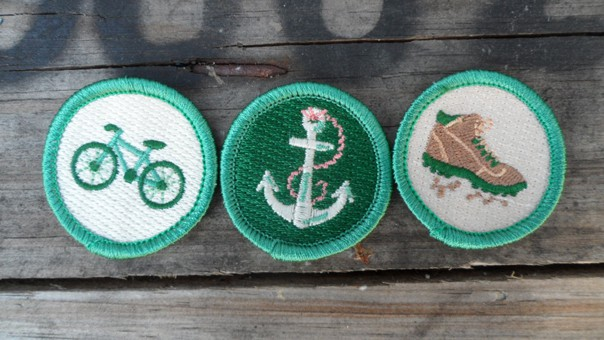 The Scout Project merit badges // Feast + West