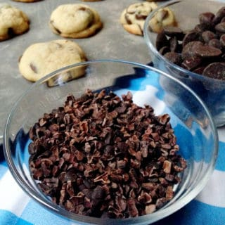 Soft Batch Chocolate Chip Cookies with Cacao Nibs