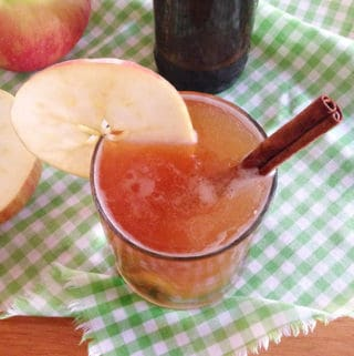 Spiced Apple Cider Shandies