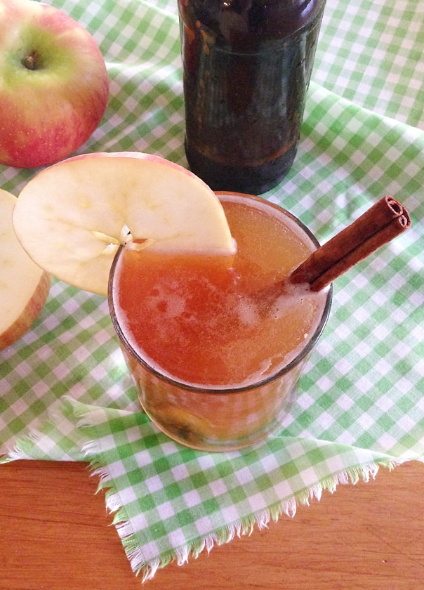 Spiced Apple Cider Shandy // Feast + West