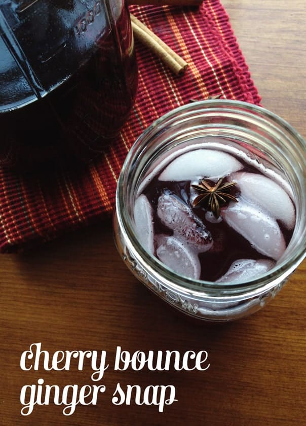Cherry Bounce Ginger Snap // Feast + West